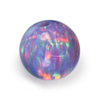 Synthetic Gem, Ball Opal Stone, Round Resin Opal