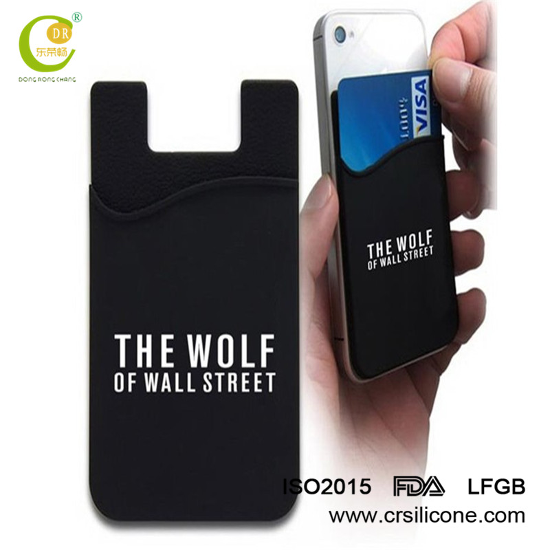 Cell Phone Card Holder >> Adhesive Cell Phone Credit Card Holder Custom Logo 3m Sticker Silicone Mobile Phone Card Holder Buy High Quality Cell Phone Credit Card
