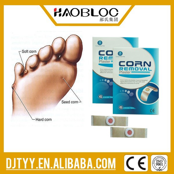 Top Level Haobloc Removal Corn Plaster, Maintain Good Foot Hygiene, TCD/TCM Therapy