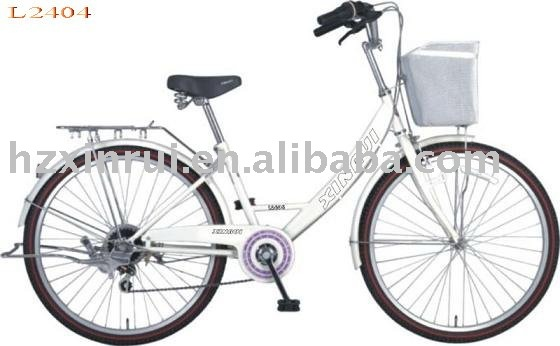 cheap stylish 24 inch comfortable Lady Bikes city bicycles for sale
