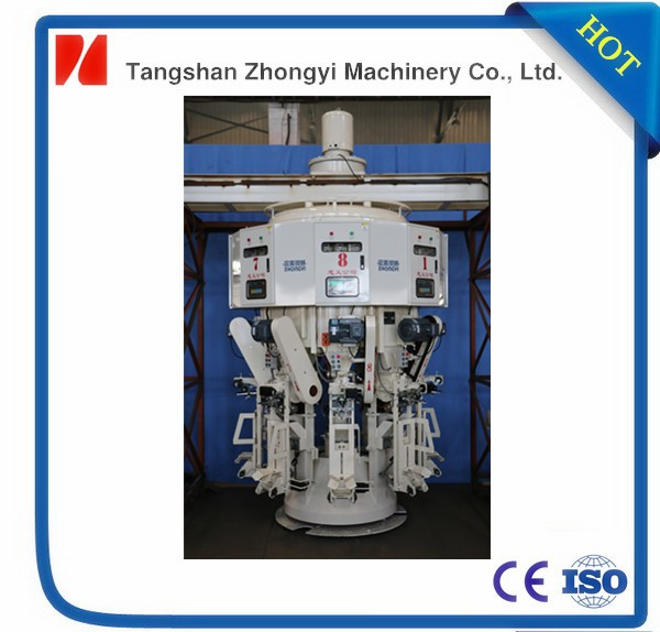 CNC AUTO 8 spouts rotary type cement packaging machine