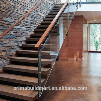 Prima Glass Stairs Grill Design Wood Stair Design Buy Wood Stair