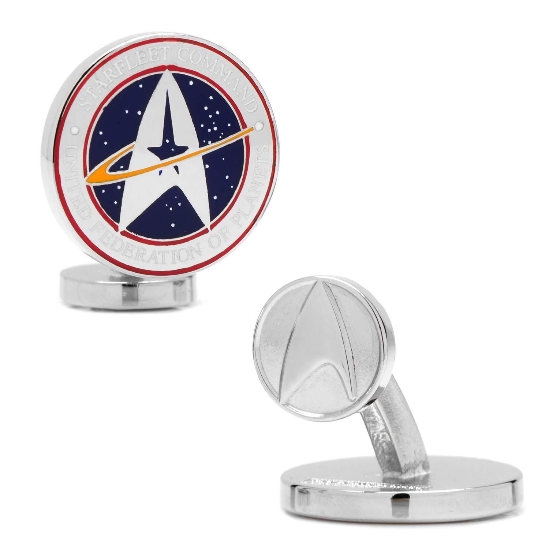 Cufflinks Star Trek Star Trek Starfleet Command, Officially Licensed