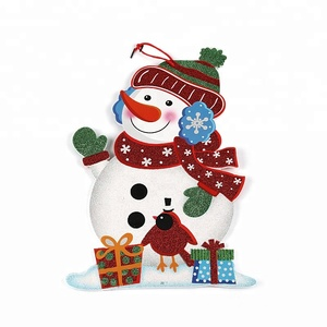 wholesale Christmas ornaments snowman Christmas hanging for activity party decoration