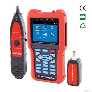 "NOYAFA Brand ! 4.3 "" HD CCTV camera Tester network cable ahd tester"
