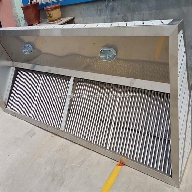 Restaurant Kitchen Hoods Stainless Steel ~ Custom commercial stainless steel restaurant kitchen range