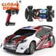 Original WLTOYS RC Car 1/18 Scale 2.4Gh 4CH RTR 4WD Rally Car Children RC Dirt Bike Toy A949