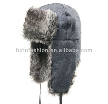 Sheepskin Winter Fur Animal Hat Fashion Russian Fur Hat Pattern ... 82d2b7a1560