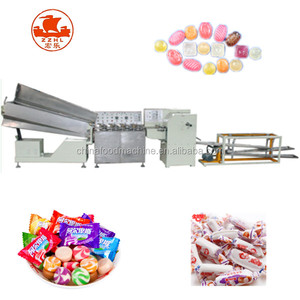 Automatic Crispy Candy Forming Machine And Small Hard Chewing Gum Manufacturing Machine