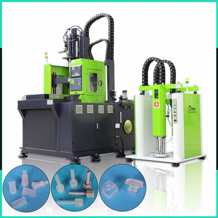 50-500T High Precision Silicone Electric Drum Stick Injection Molding Machine