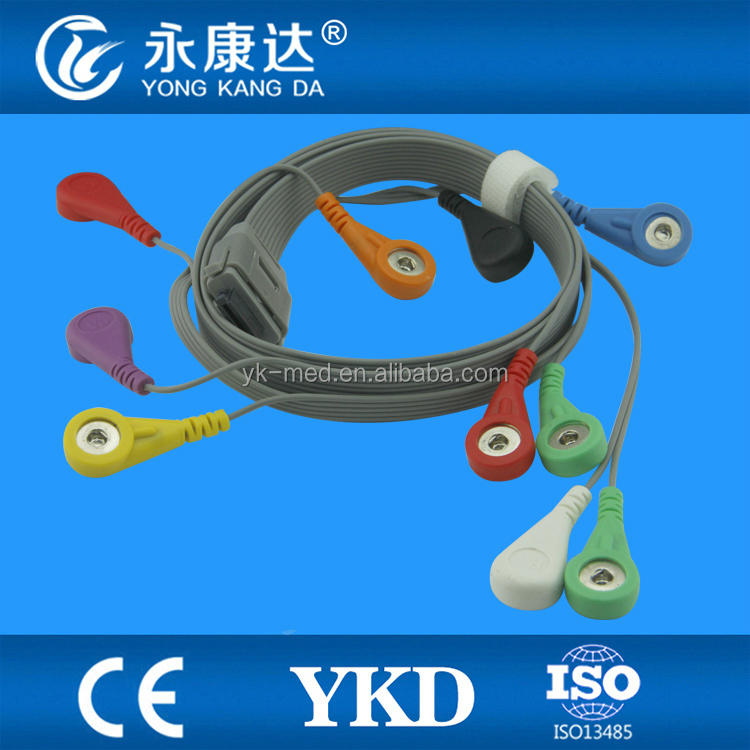 New Products! BI holter ECG cable compatible BI9800/ BI9000 , Gold supplier
