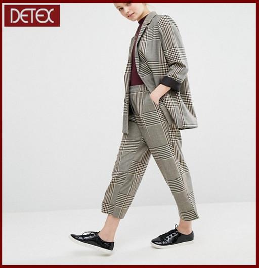 New check women coat ladies suit design buy ladies coat for New check designs