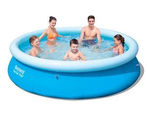 Bestway 10FT. X 30IN. / 3.05M X 76CM 3638L Fast set Tritech Material above ground swimming pools
