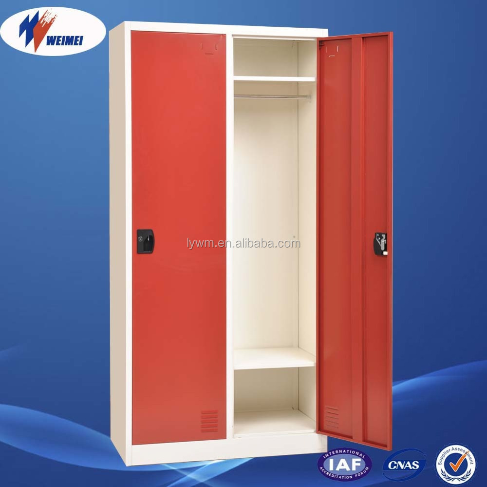 Goedkope dubbele deur india verschillende kleur staal almirah ...