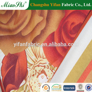 100% Polyester Printing Low Price BedSheet Fabric