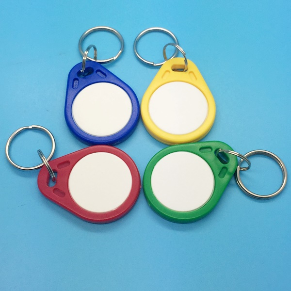 Access Control HF Passive MIFARE Classic 1K RFID Key Chain for Hotel in Cheap Price