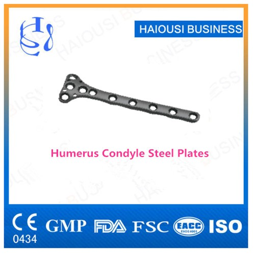 Humerus Condyle Steel Plate/ Metal Bone Plate Range/ Orthopedic ...