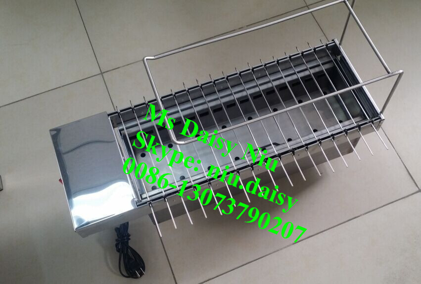 rotary charcoal BBQ grill/charcoal grill/BBQ grill for restaurants