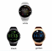 2016 Hot Product KW18 Smart Watch Android/IOS Digital-watch Bluetooth Inteligente SIM Round Heart Rate Monitor Watch clock