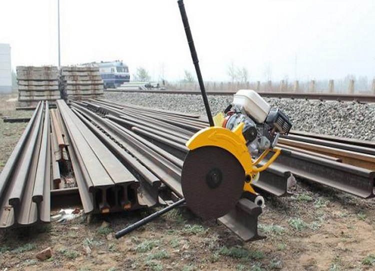 Hot sale electrical rail cutter railway saw machine for sale