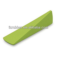 Triangle practical silicone rubber door stoppers