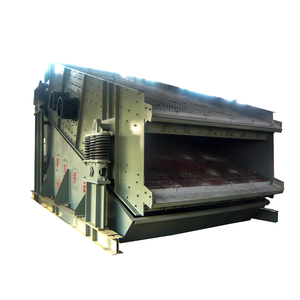 Double motors vibrating screen circular sifter for sand and gravel
