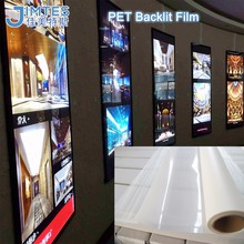 matt uv pet backlit film for light box