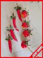 Artificial decorative hanging kitchen fruit decorations