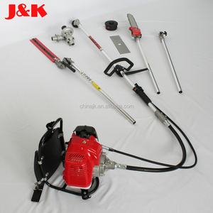 52CC 2-Stroke Backpack Multi function brush cutter include pole saw pole trimmer and water pump