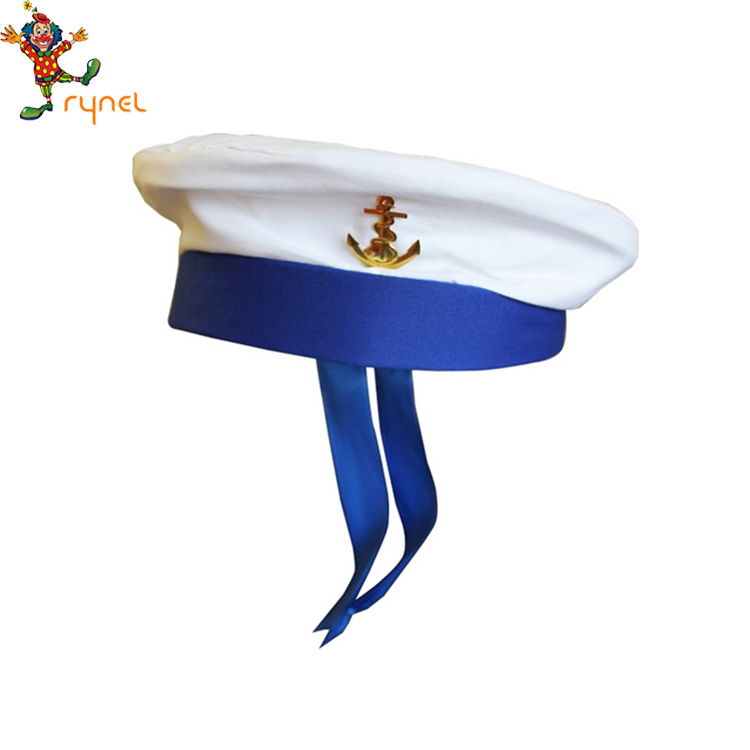 PGH1890 Blue sailor hat the festival carnival party hat for man
