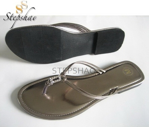 New Arrival Nice Looking Women Plain Classical Flat Sandals