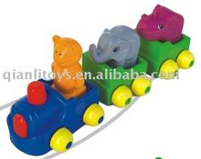 Educational kid toy -mini animal train QL-009-3