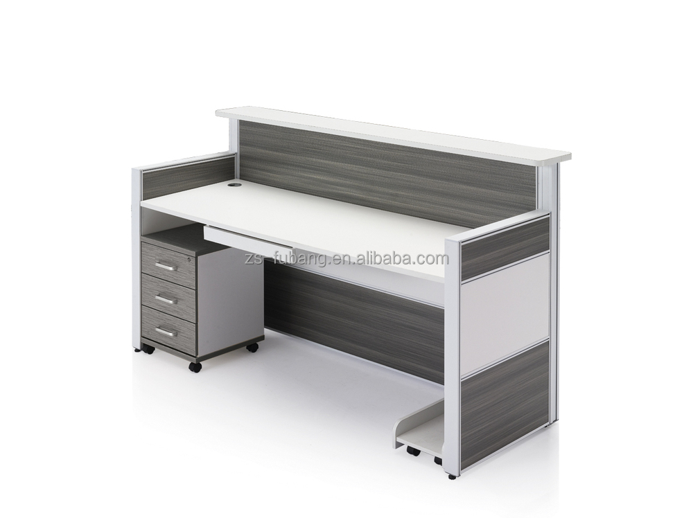 black color furniture office counter design. black color furniture office counter design china factory supply melamine reception deskcounter double layers n