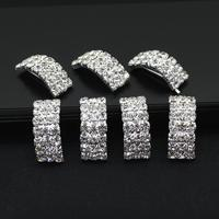 Wedding Decors Diamante Invitations Rhinestone buckle For crystal Slider ribbon