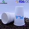 china single double ripple wall double pe logo color packaging custom high quality import low price 12oz pla paper cup