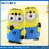 minion case for samsung galaxy s4 i9500 , minion 3d silicone case for samsung galaxy s4