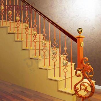 Interior Cast Iron Stair Railing Panels