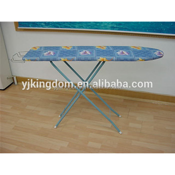 EP 48AH 4 Leg Tabletop Ironing Board With Patterned Cotton Cover
