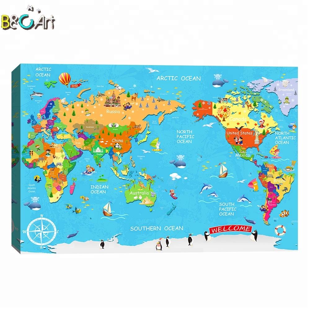 Venta Al Por Mayor Wallpapers Mapa Mundi Compre Online Los