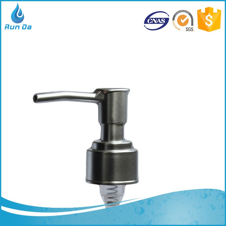 Wholesale 24 410 cosmetic liquid soap metal lotion dispenser pump