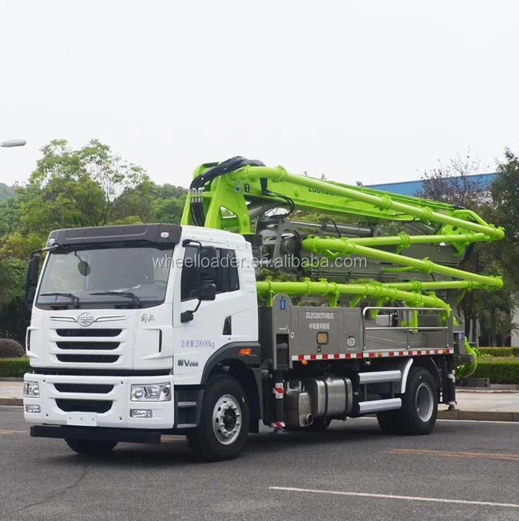 52X-6RZ 52M Zoomlion Concrete Pump Truck for Sale with 4 Axles