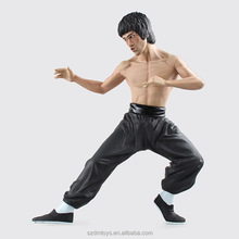 ICTI factory OEM Kung Fu Hero Bruce Lee Action Figure Film Star PVC Doll toys