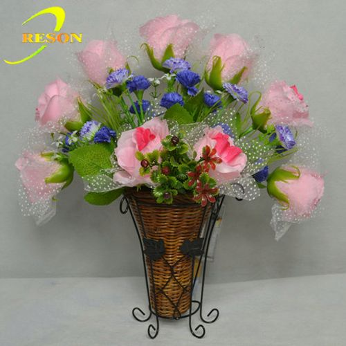 Best sell country style flower vase home decoration whole sale
