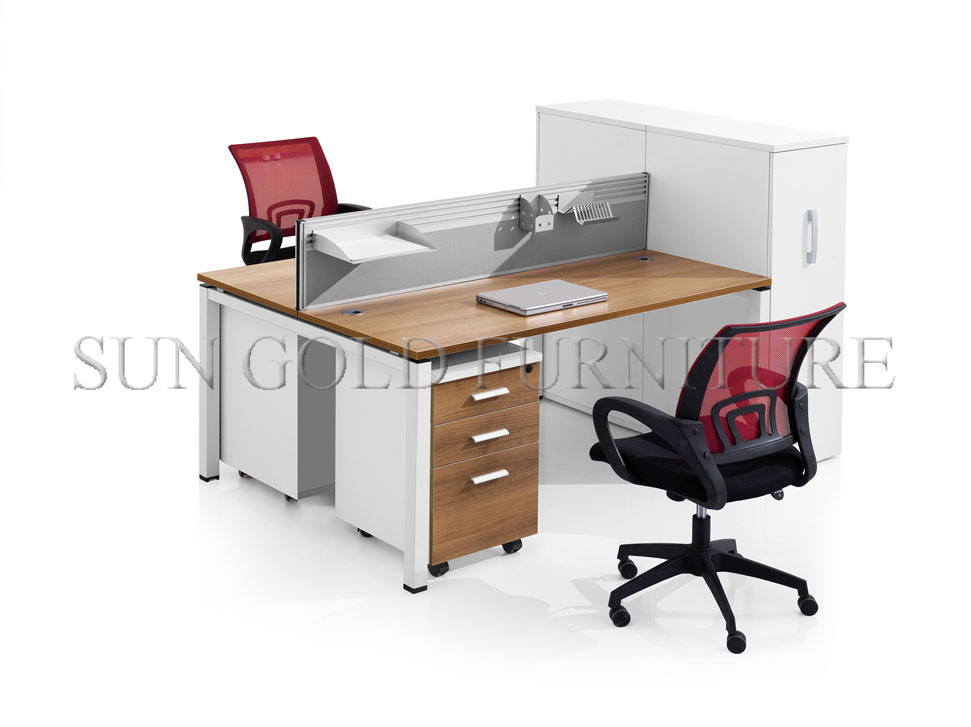 Office Furniture Double Desk Workstation Computer Desk Workstation Desk  Office(SZ WS324)
