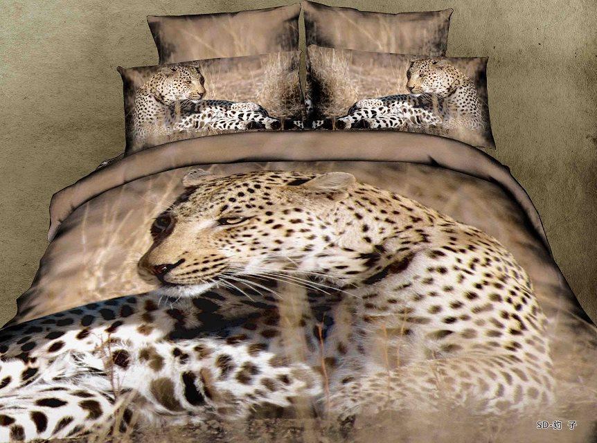 3d 4 St 252 Ck Leopard Bettw 228 Schesatz Beding Gesetzt Ruht