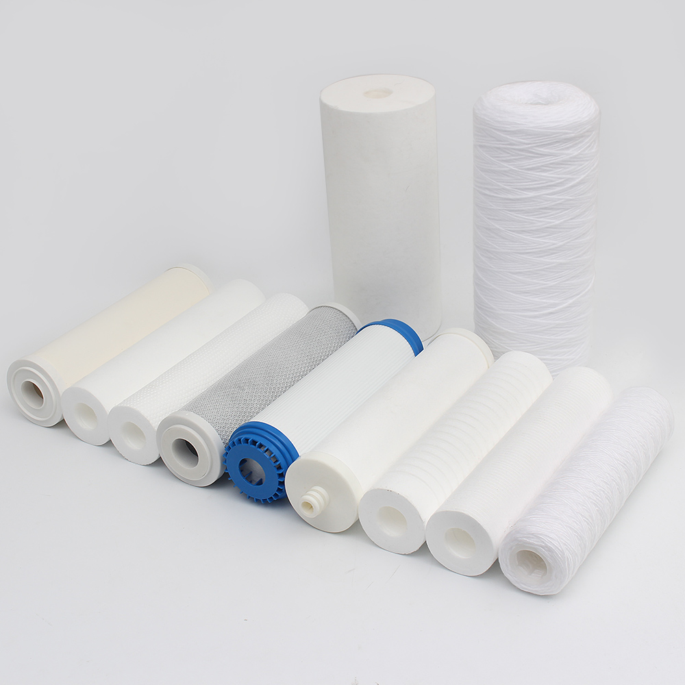 10 micron PP/PP GAREN/CTO/UDF water filter cartridge