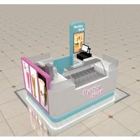 Boba Tea Store Design Booth Juice Bar Tea Kiosk Bubble Tea Bar ...