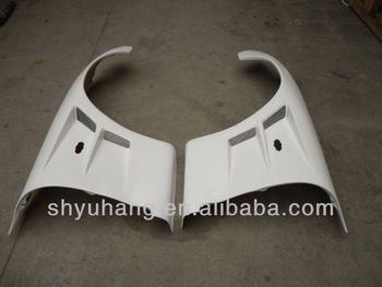 For Mazda Rx7 Fd3s Bn-sports Style Glass Fiber Front Fenders +30mm Frp  Front Fender - Buy Glass Fiber Front Fenders,Mazda Rx7 Fd3s Bn-sports,+30mm  Frp