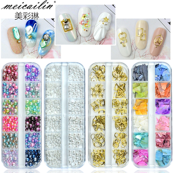 DIY nail decorations accessories 3d nail art