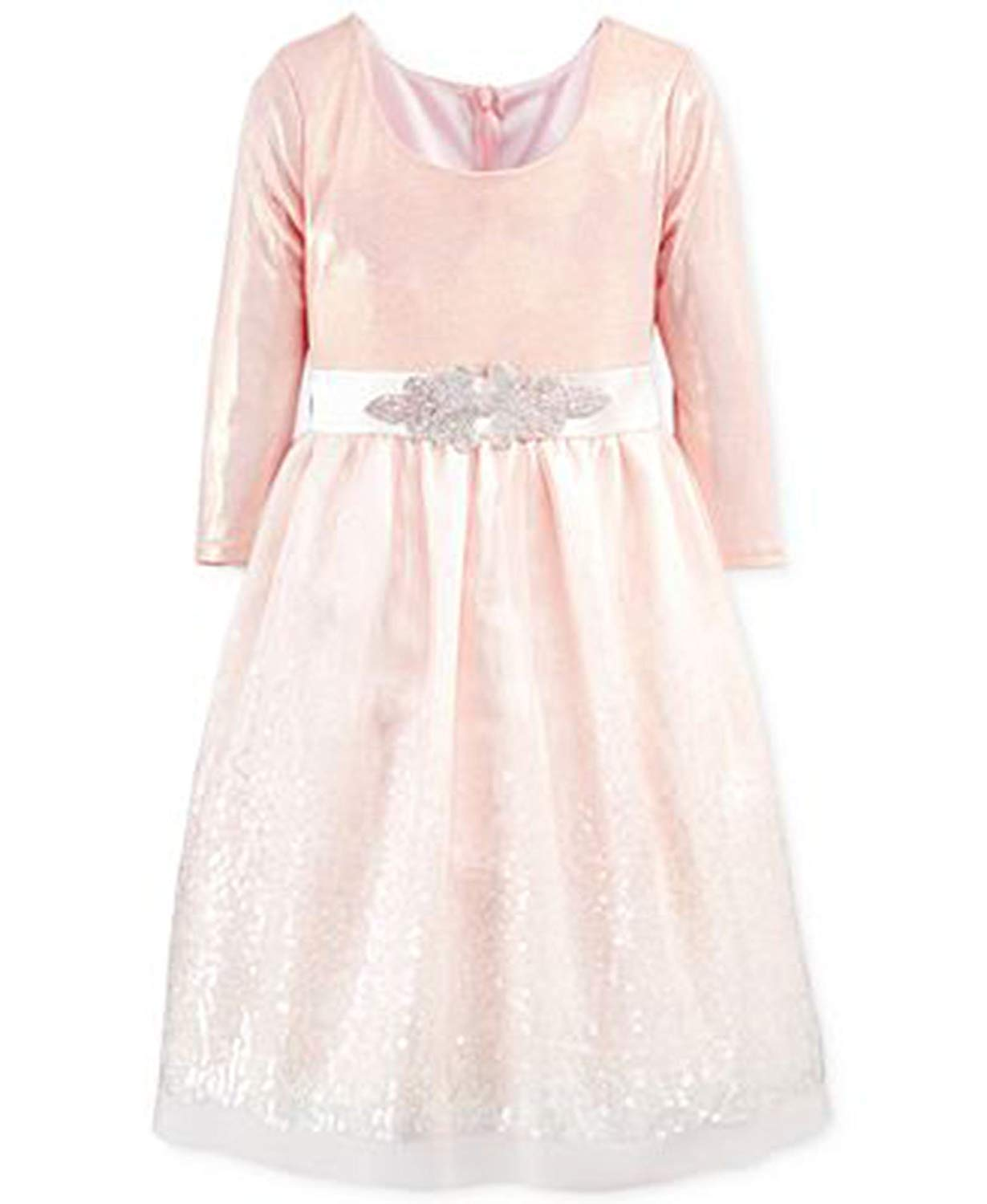 99e37b316bc Buy Bonnie Jean Little Girls Sequin-Skirt Dress 2 2T Pink in Cheap ...
